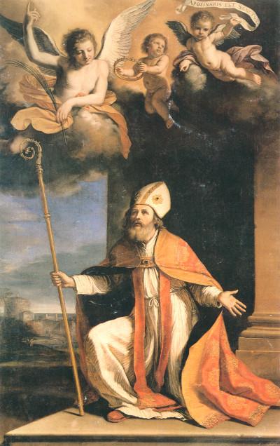 estratto S. Apollinare Guercino