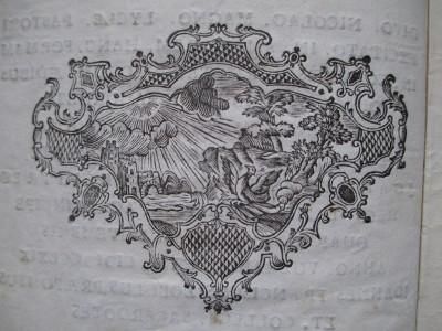 DECORAZIONI XILOGRAFICHE della tipografia barocca reggiana